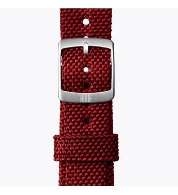 Červený nylonový pásek