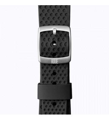Černý silikonový pásek